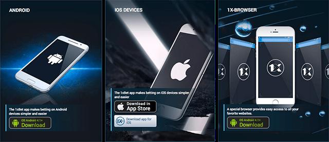 Descargar 1xBet mobile app
